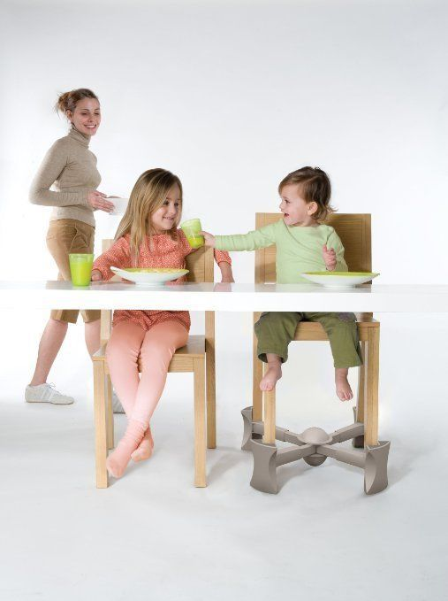 Kaboost Under Chair Booster Seat For Dining Portable Chair Booster For Toddlers