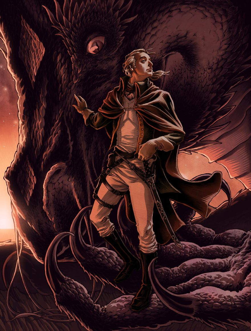 Laurence Temeraire By Danielgovar On Deviantart (inspired By The Temeraire  Books By Naomi Novik)