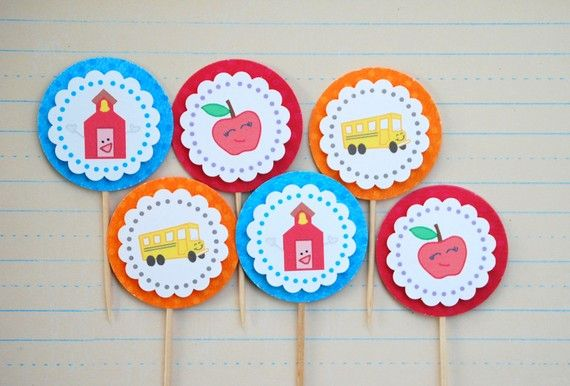 The Back To School Collection - Limited Edition CUPCAKE SETS from Mary Had a Little Party