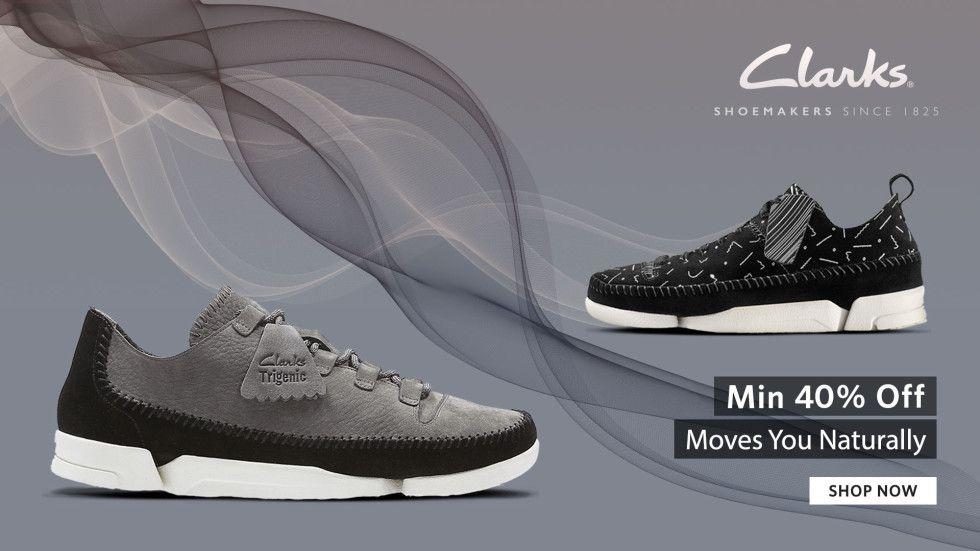 85151418e67 Myntra Clarks Offer   Shoes Minimum 40% Off + FREE Ship ...