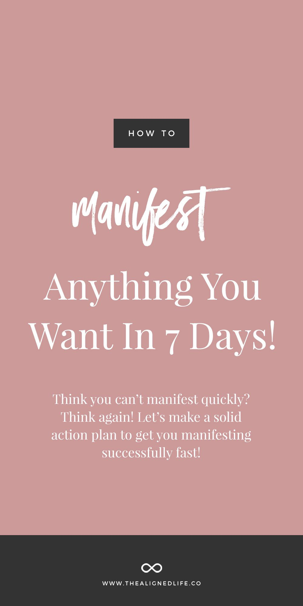 [ LoA 101 Series ] How To Manifest Anything You Want In 7
