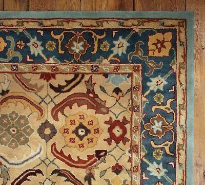 Brand New Pottery Barn Eva Persian Style Woolen Area Rug Carpet