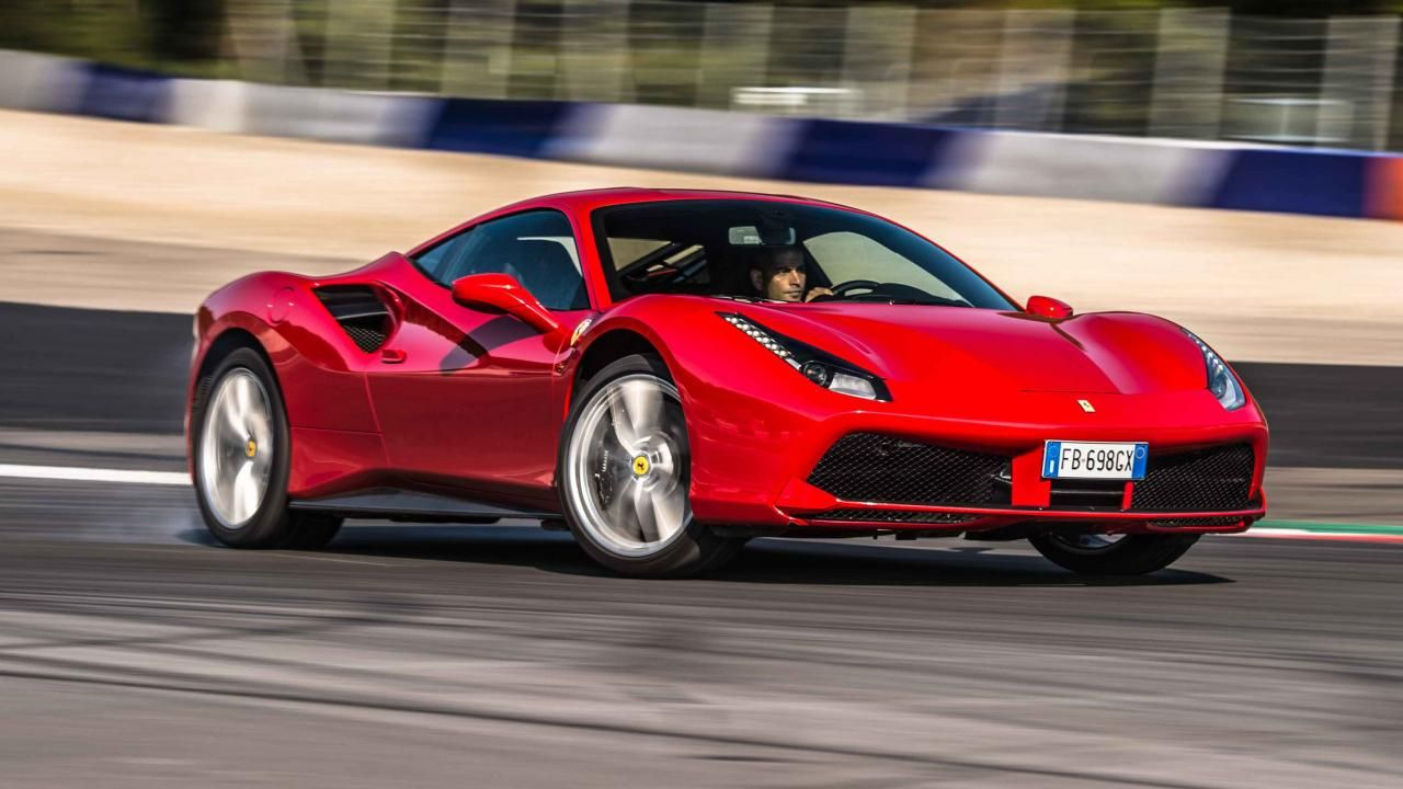 Top Gear 488 GTB Ferrari 488, Ferrari, Twin turbo