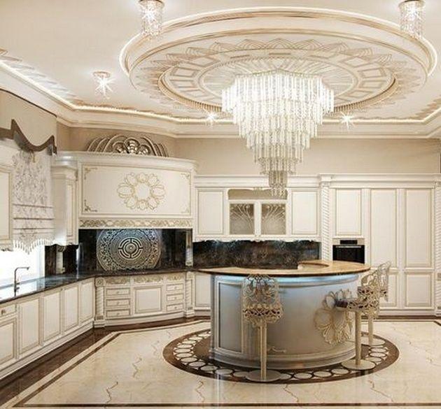 50+ Luxury Kitchen Design Ideas_46