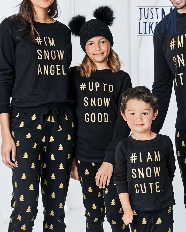 The best matching Christmas pyjama sets for all the family