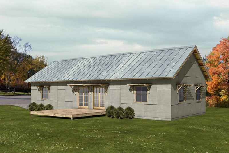 single gable roof house plans