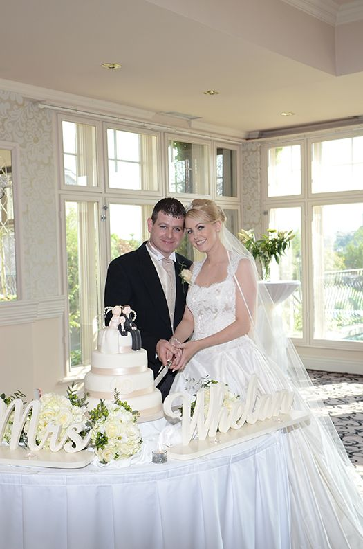 April and Daniel's wedding at our hotel during the summer.  Beautiful couple, lots of style!