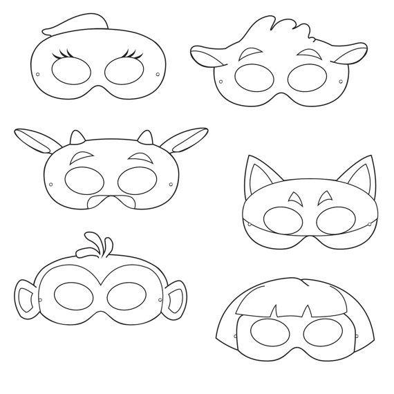 Exploring Printable Coloring Masks, printable masks