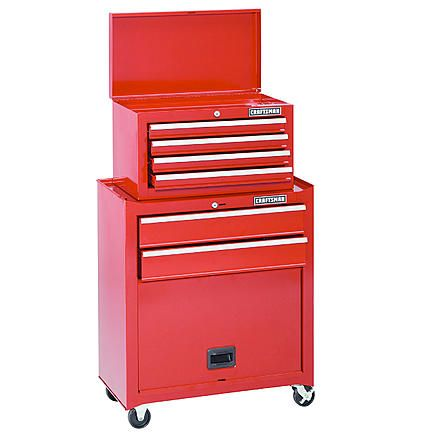 27x44 99 Craftsman Home Series 6 Drawer Tool Center With