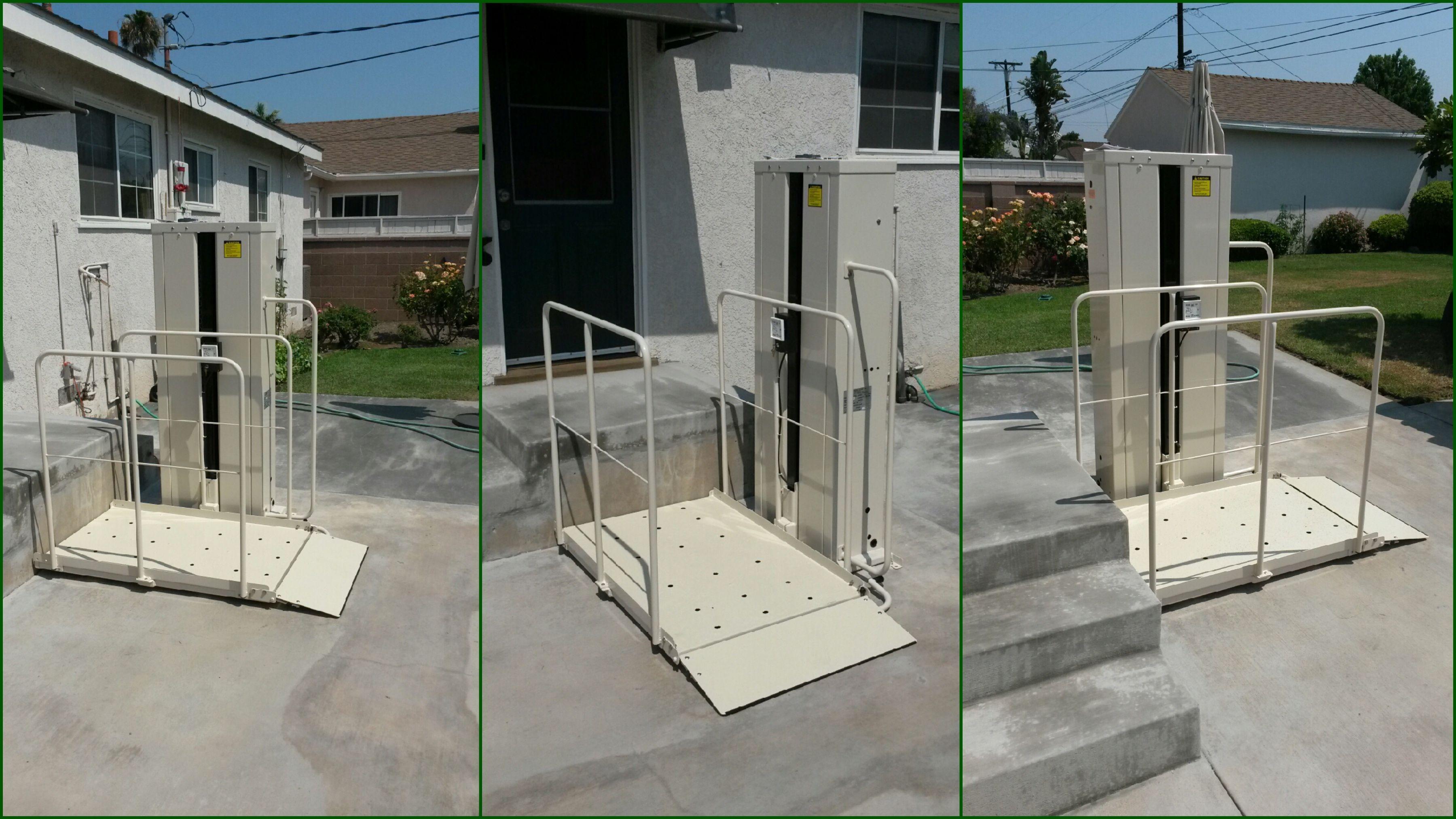 Macs vertical home lift pl50 universal design