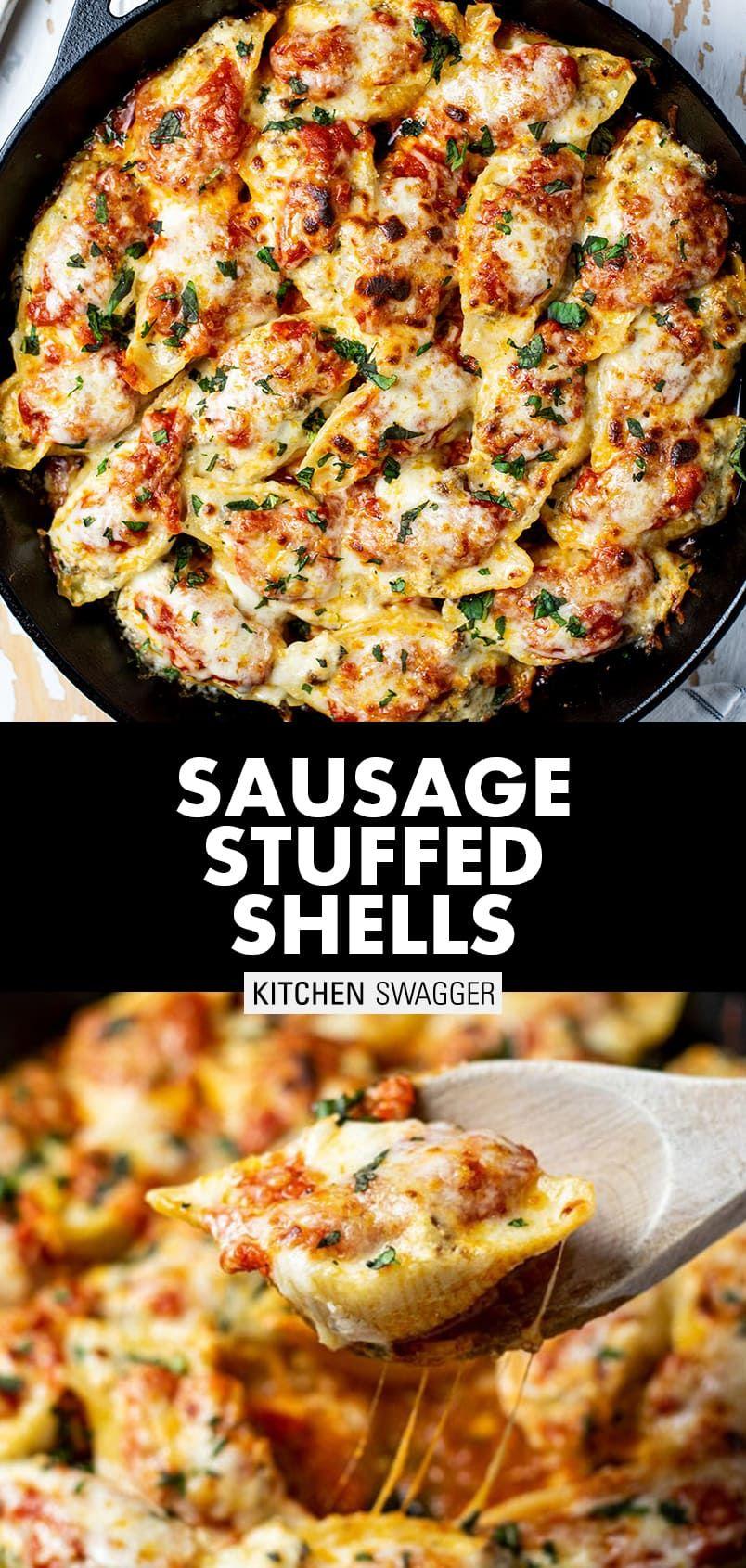 Photo of Sausage Stuffed Shells Recipe