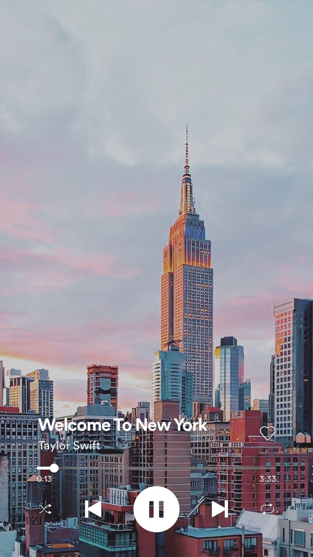 Taylor Swift Lockscreens Like Or Reblog If You New York Wallpaper City Aesthetic Sky Aesthetic Aesthetic new york iphone wallpaper