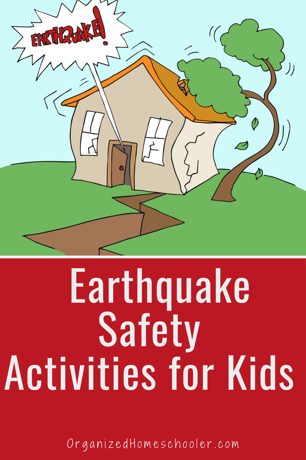 after earthquake Health and safety poster, Earthquake