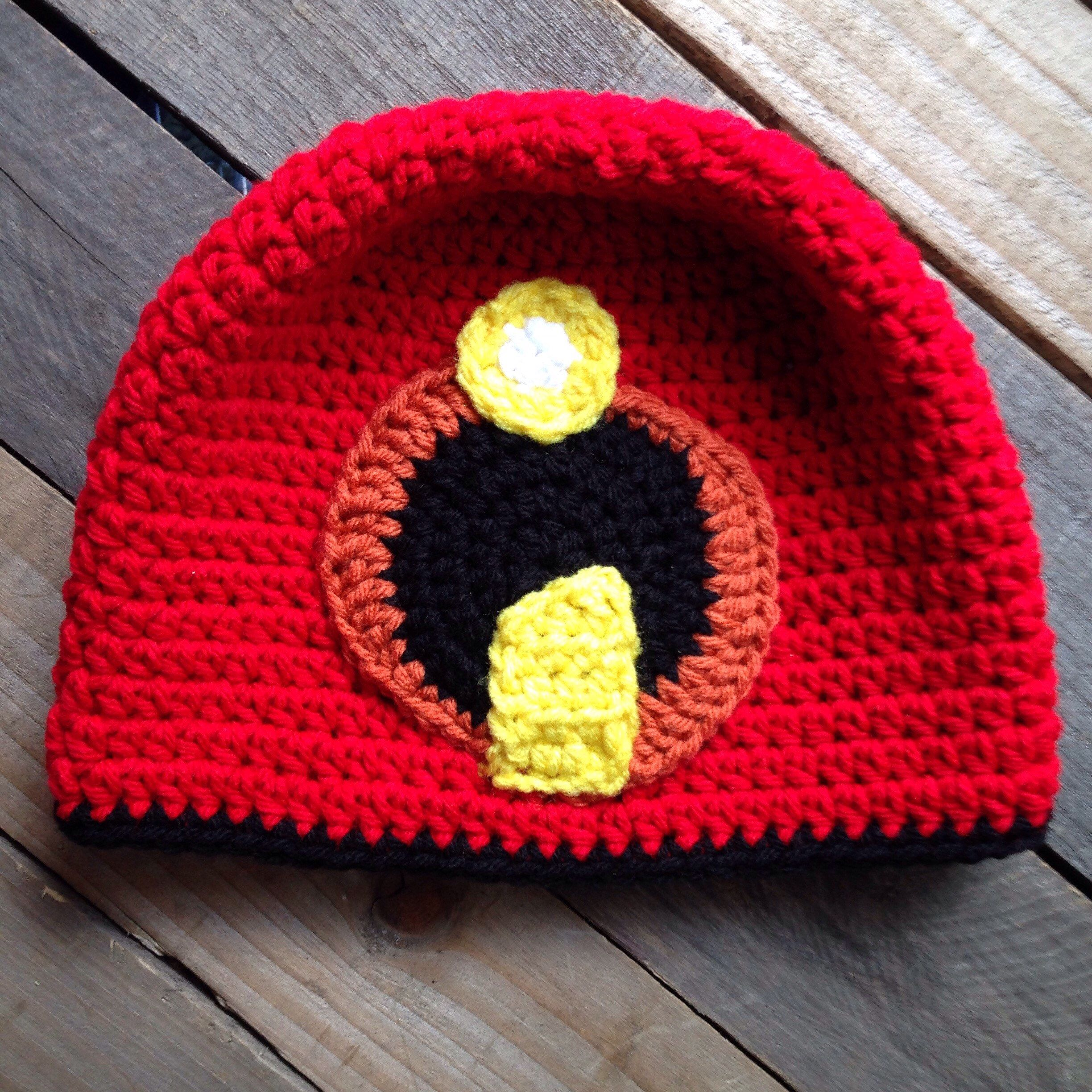 1070b5a1c341a Incredibles inspired crochet hat