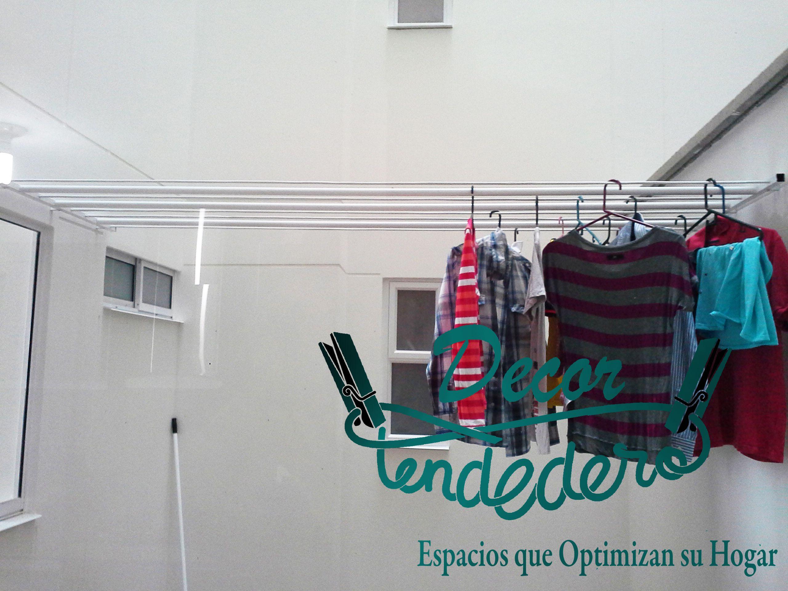 Tendedero muro a muro para el tendido de su ropa informes - Tendederos de balcon ...