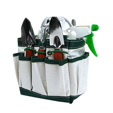 Found it at Wayfair - 7 Piece Garden Tool Set in White. List Price: $20.66 Retail Price: $19.99 Free Shipping on Orders Over $49.00!
