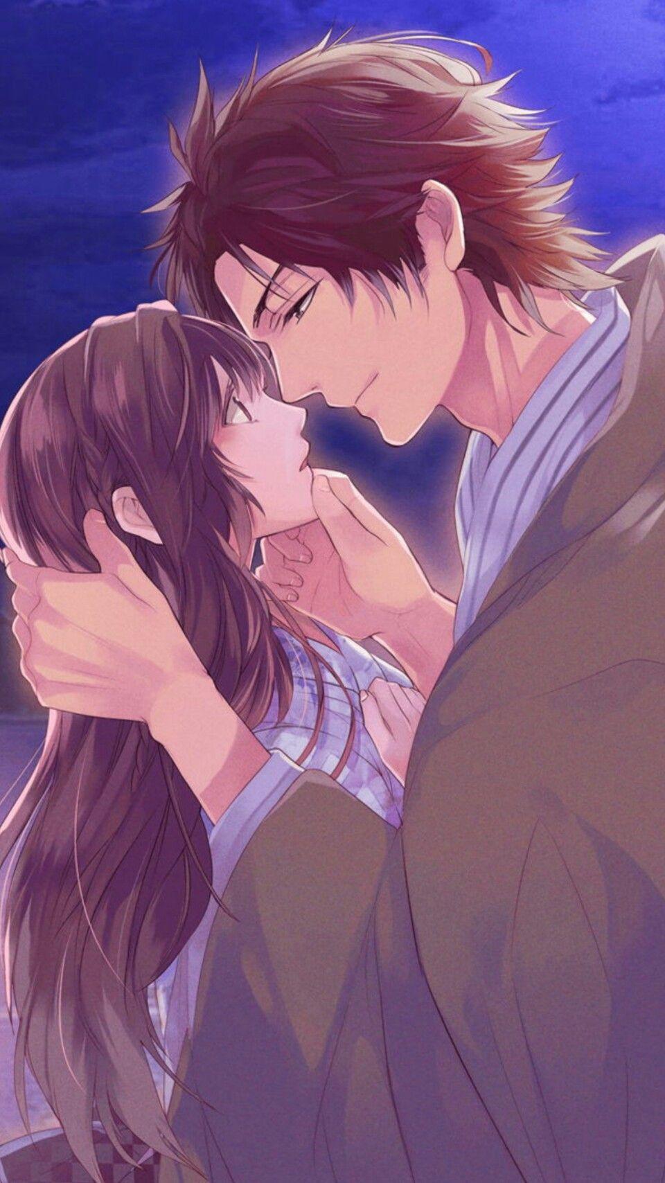 Shingen Dramatic Route Cg Romantic Anime Anime Love Couple Anime Love Story