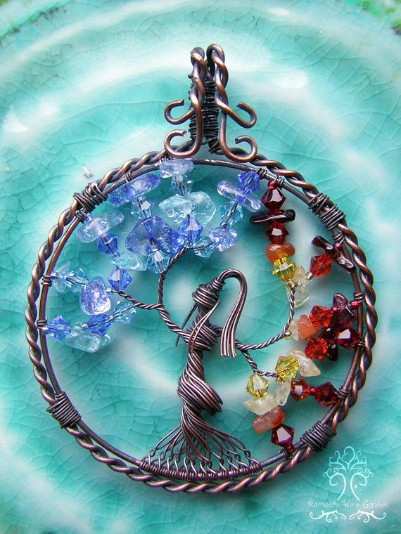 Legend of Korra Inspired Tree of Life Wire Wrapped Goddess Pendant ...