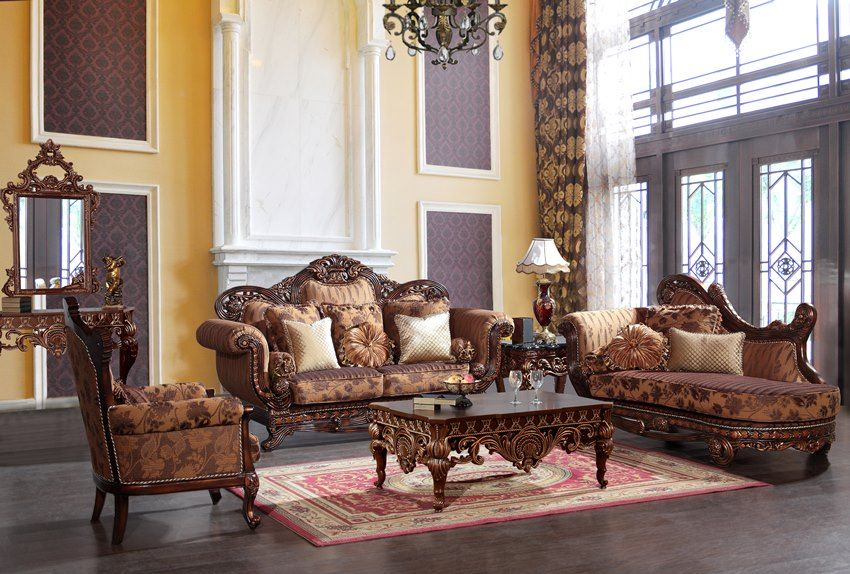 Maywood Formal Living Room Set With Chaise  Living Room Mesmerizing Living Rooms Sets 2018