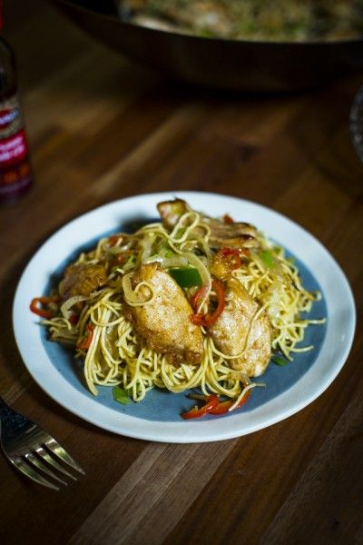 A proper feast that's ready in minutes! Salt & Chilli Chicken with Chilli Noodles   DonalSkehan.com