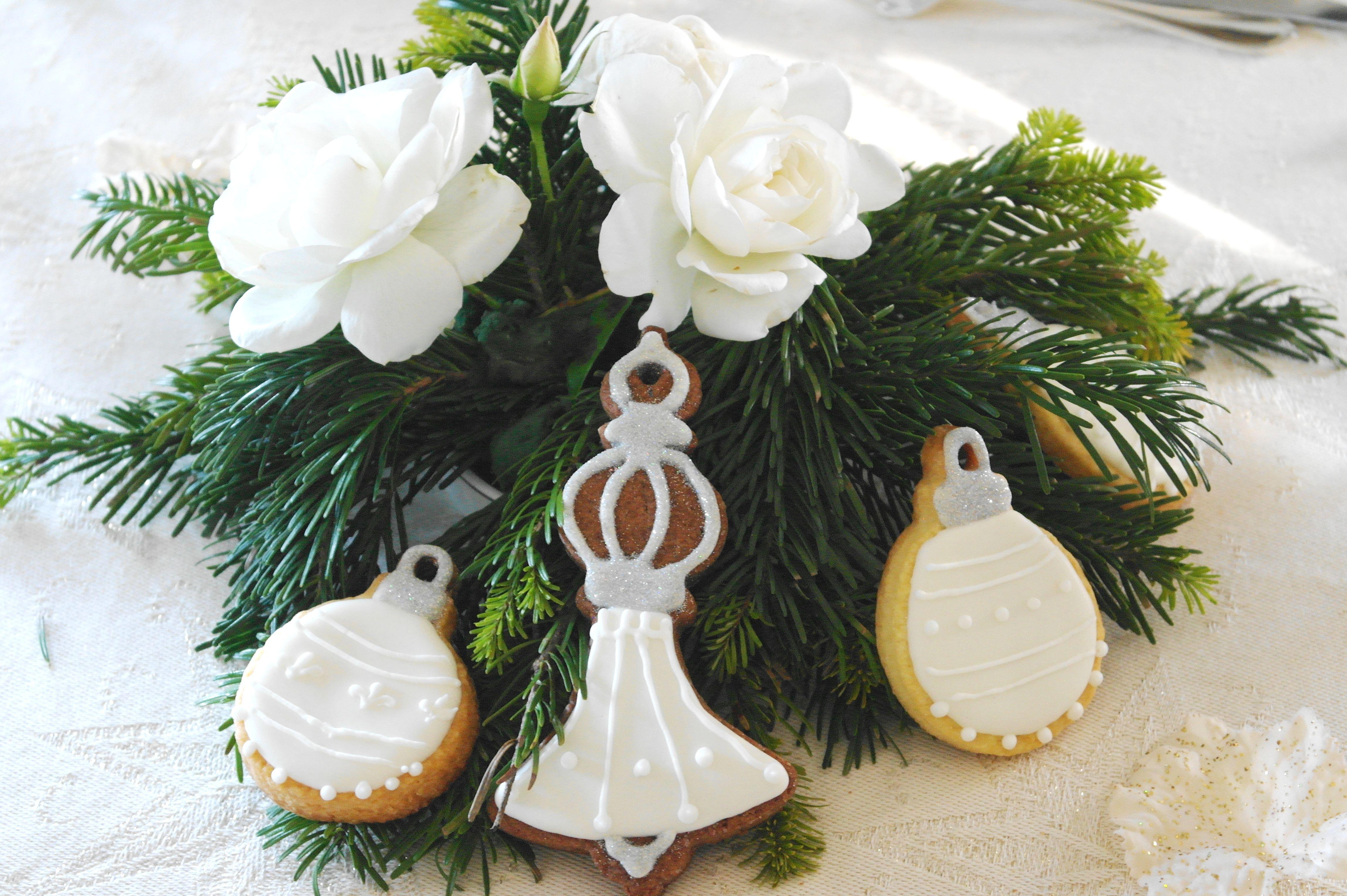 Biscotti natalizi centrotavola e segnaposto segnaposti pinterest segnaposto centrotavola - Centrotavola natalizi pinterest ...