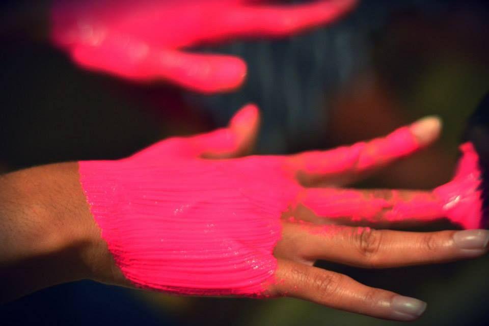 Undress Brisbane #Undress13 #Sustainablefashion #Sneakpeek #Secret #Colour #Neon