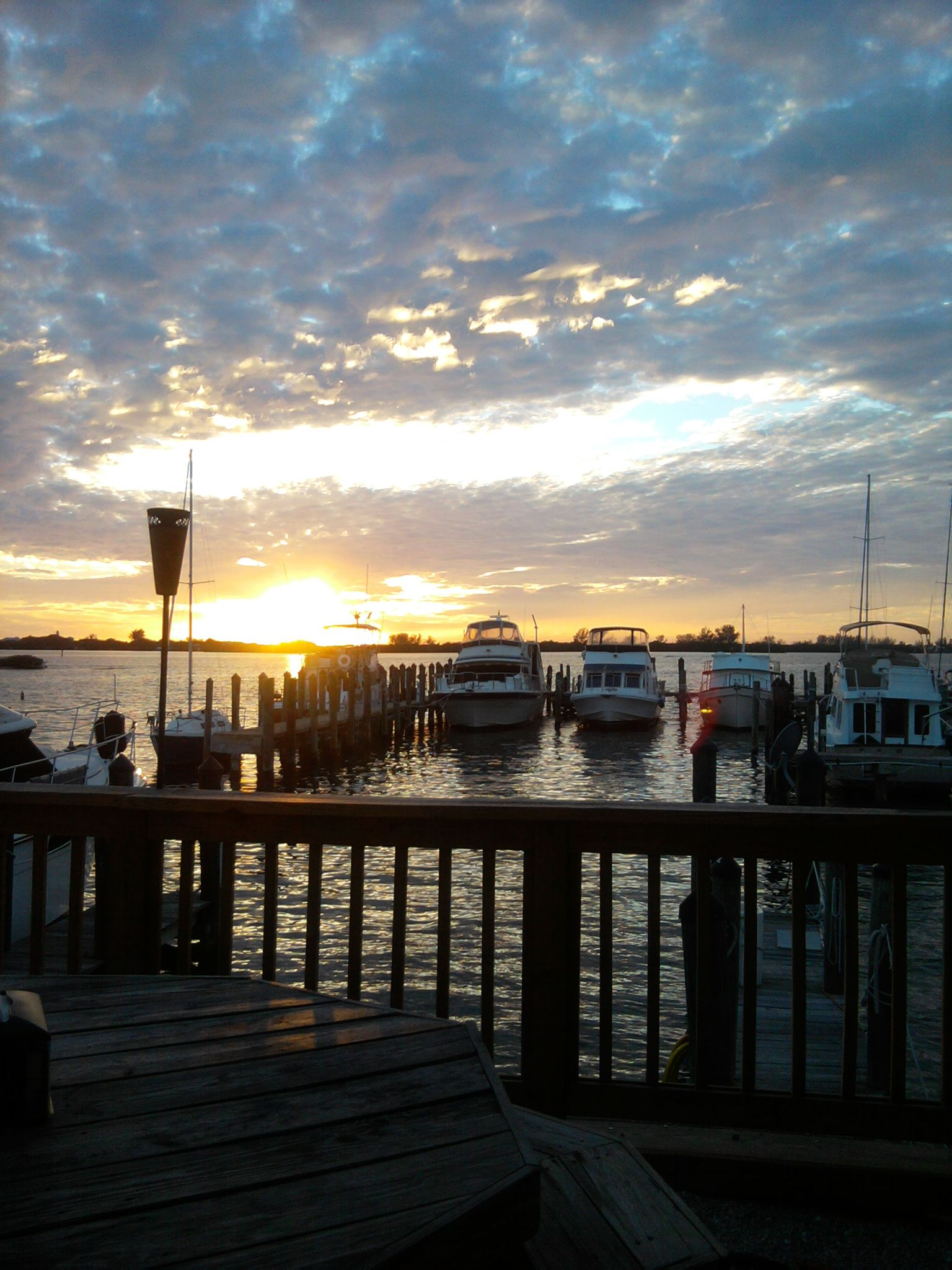 Englewood, Florida....Picture I took from Zeke's Tiki Bar ...