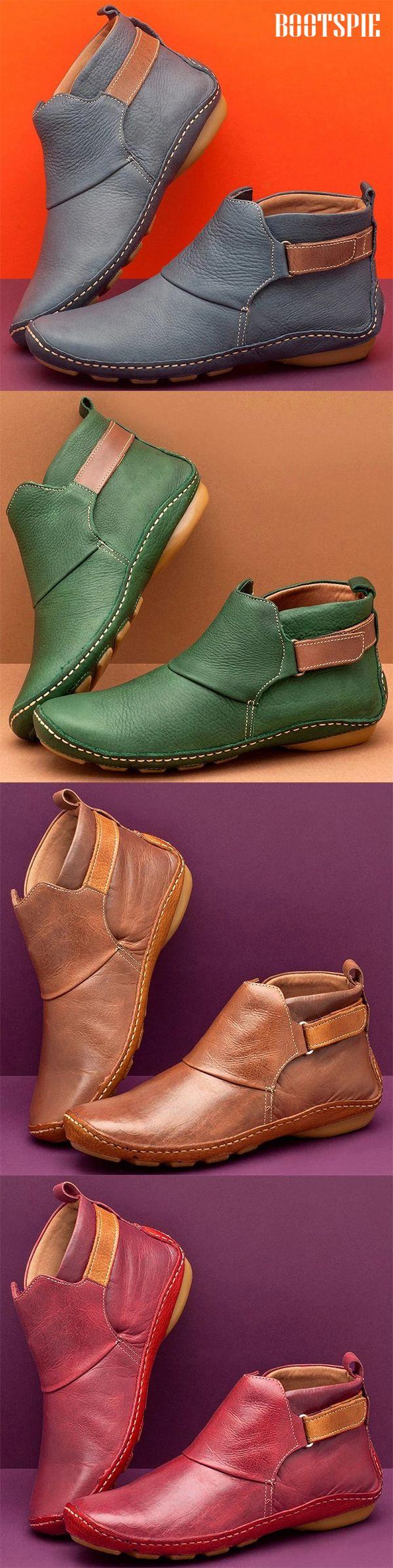 Women Autumn Low Heel Boots 2