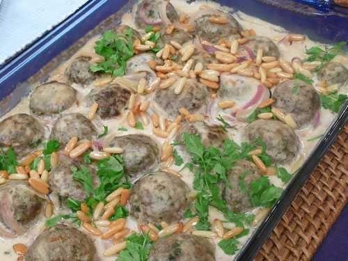 كفتة بالطحينة Egyptian Food Palestinian Food Food