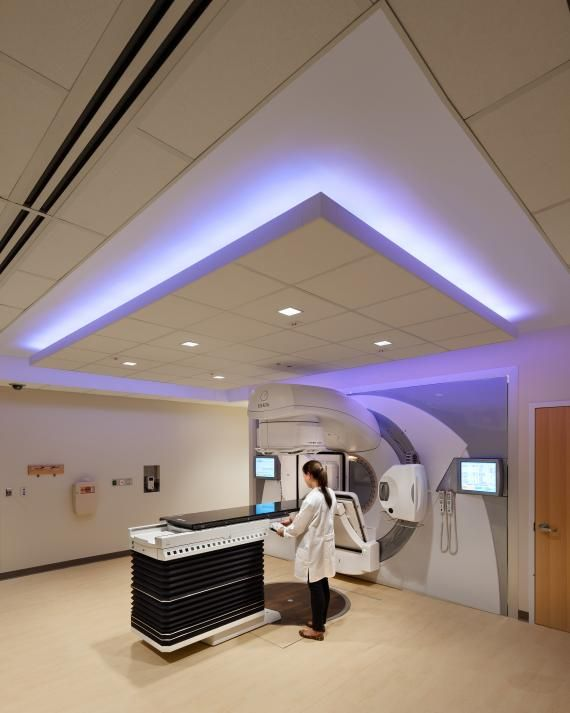 The Cancer Center Houses Two Concrete Linear Accelerator