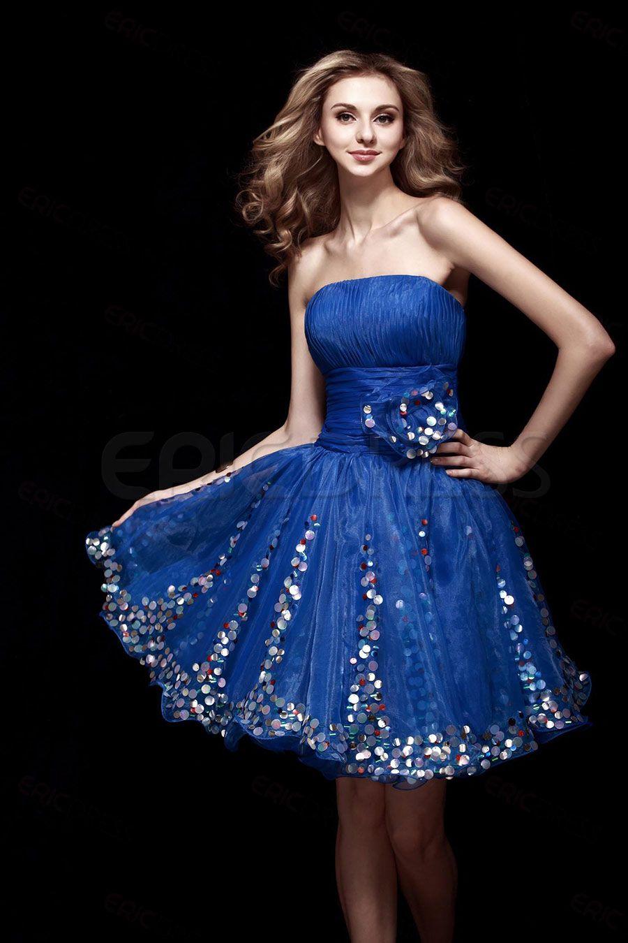 Vestidos de 15 cortos colores