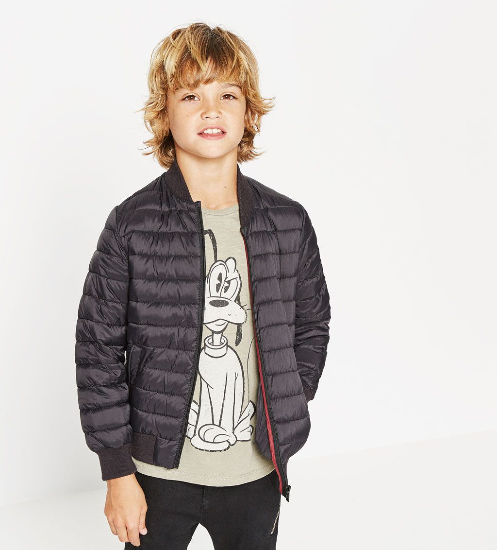 Image 1 of Lightweight quilted bomber jacket from Zara
