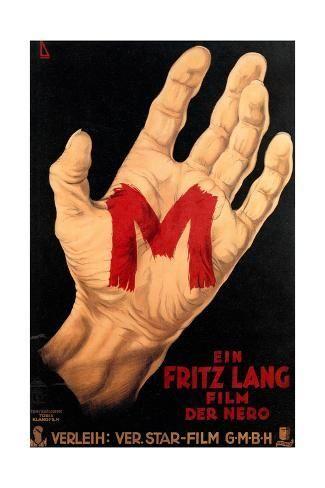 size: 18x12in Giclee Print: M, (AKA M - Eine Stadt Sucht Einen Morder), Poster, 1931 : Animals