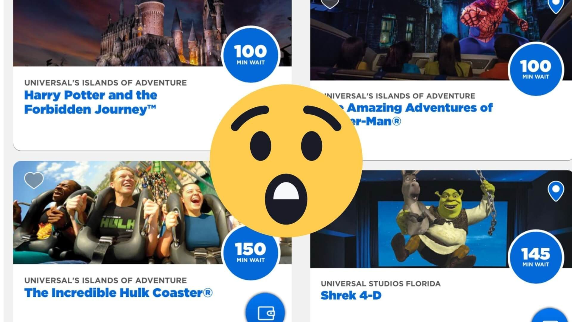 Universal Orlando Hits Capacity As Wait Times Skyrocket This Weekend Inside The Magic In 2020 Universal Islands Of Adventure Universal Studios Resort Universal Vacation