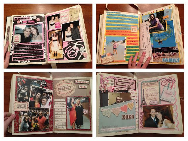 senior year scrapbook i