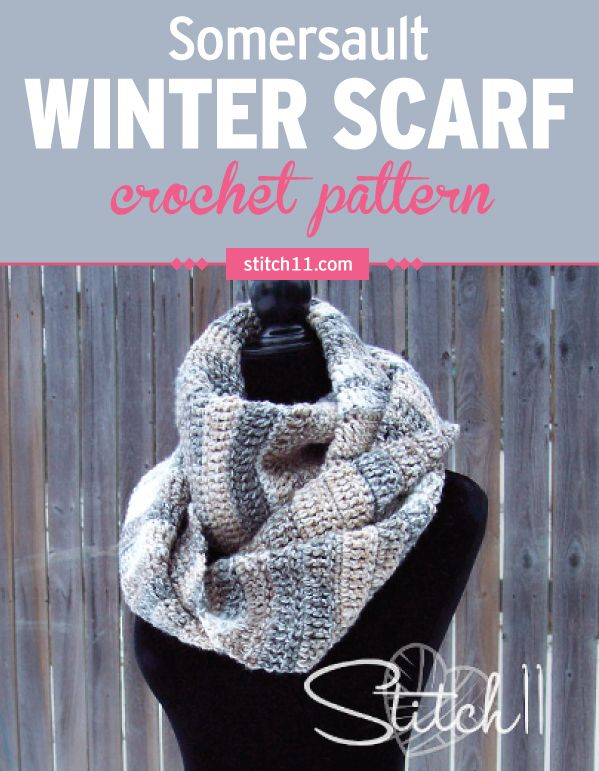 This Simple Infinity Scarf Crochet Pattern May Be Super Easy To Make