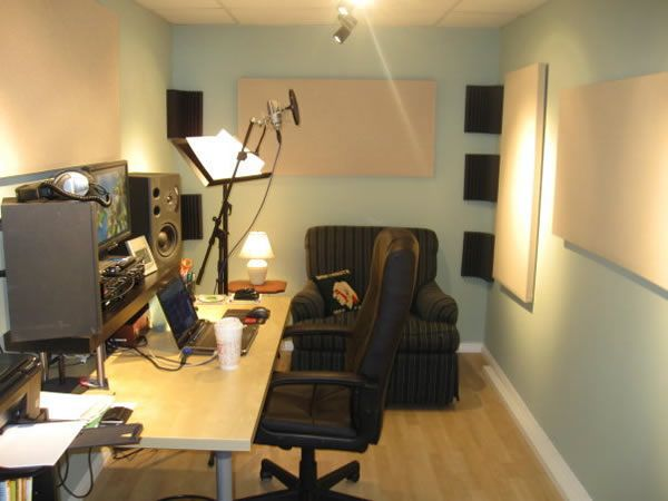 Look! Soundproof Wallpaper | Recording studio and Commercial