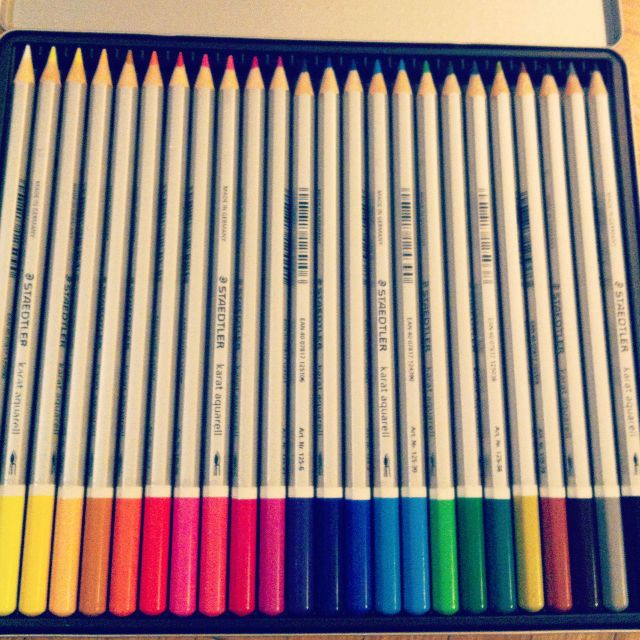 technicolor pencils