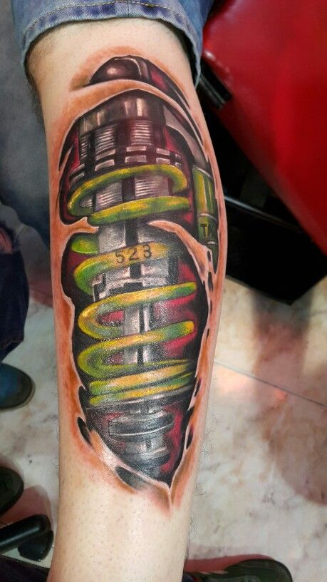Amortiguador Biomecanico Tattoo Color Tatuajes Tatuajes