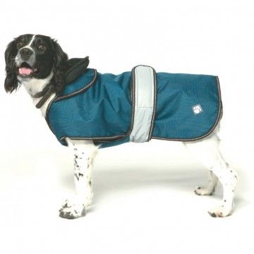 Danish Design Ultimate 2 in 1 Waterproof Dog Coat Blue Chelsea Dogs