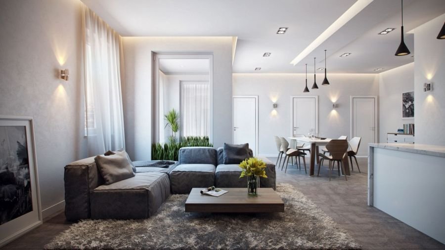 This stylish apartment in germany is the visualization of art director alexander zenzura