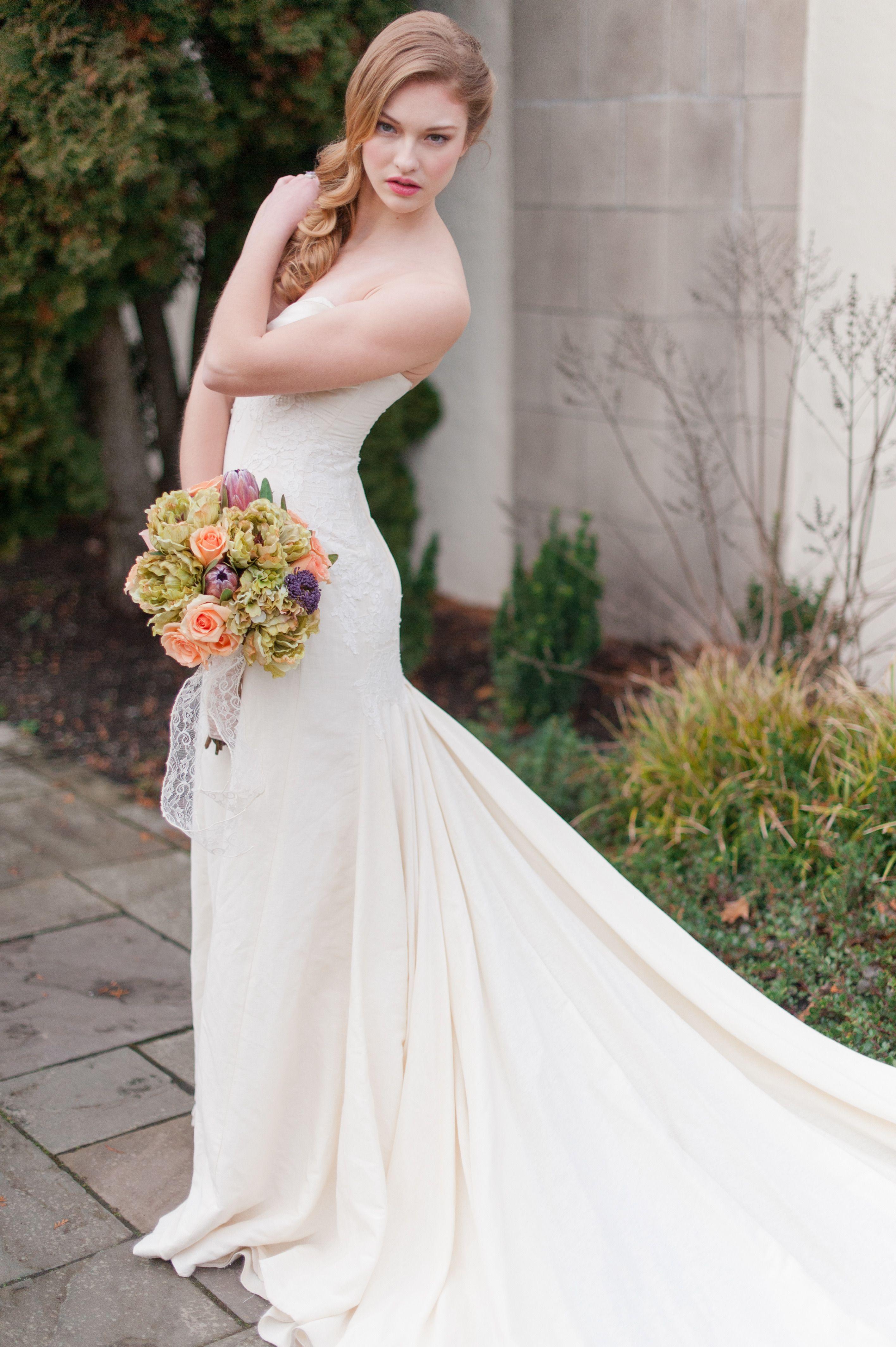 Spanish Inspired Spring Bridal Shoot Wedding dresses