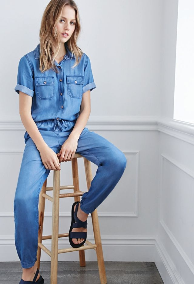 How To Wear Denim Jumpsuits Jean Denim Denim Denim