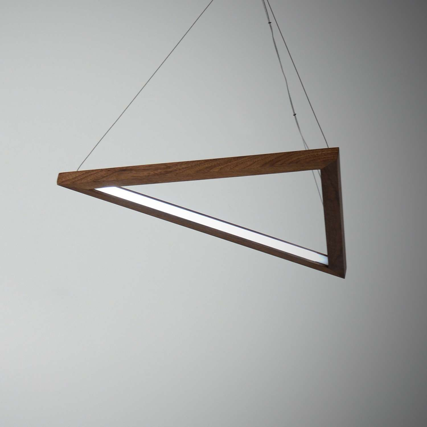 Triangle led pendant light led pendant lights pendant lighting