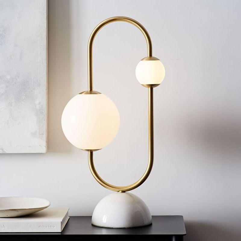 Asymmetrical Modern Table Lamp For Living Room Modern Table Lamp Lamp Decor Modern Lamp