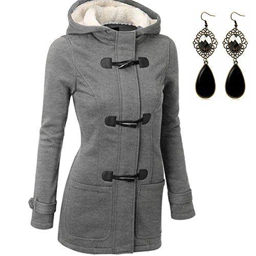 Manteau a capuche femme hiver
