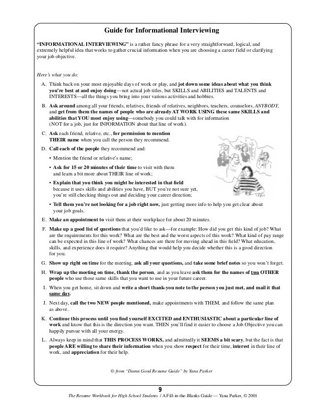 Resume Building for Teens ESL Pinterest High school students - esl resume