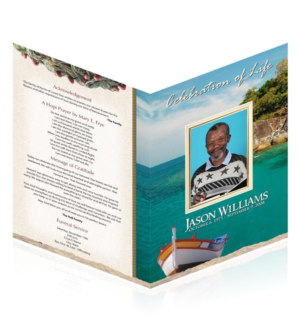 Choose easy to editable funeral cards templates from well known ...