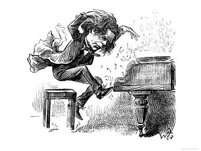 Anton Rubinstein | A Music | Piano, Music artwork, Art