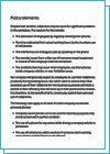Cell Phone Company Policy Template  Cellphones